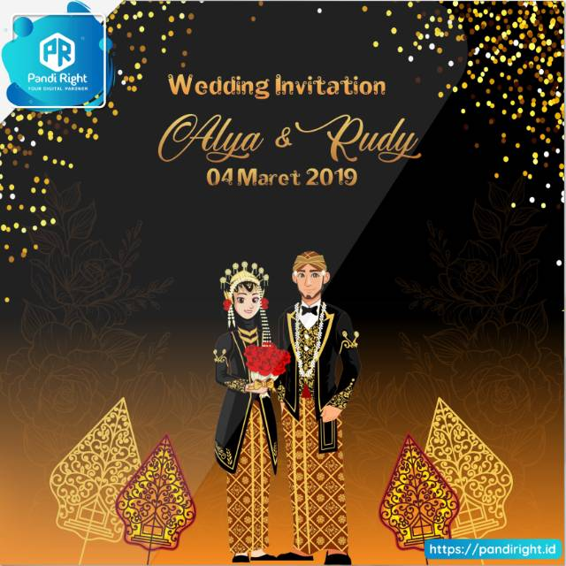 Video Undangan Pernikahan Tema Wayang Java Wedding