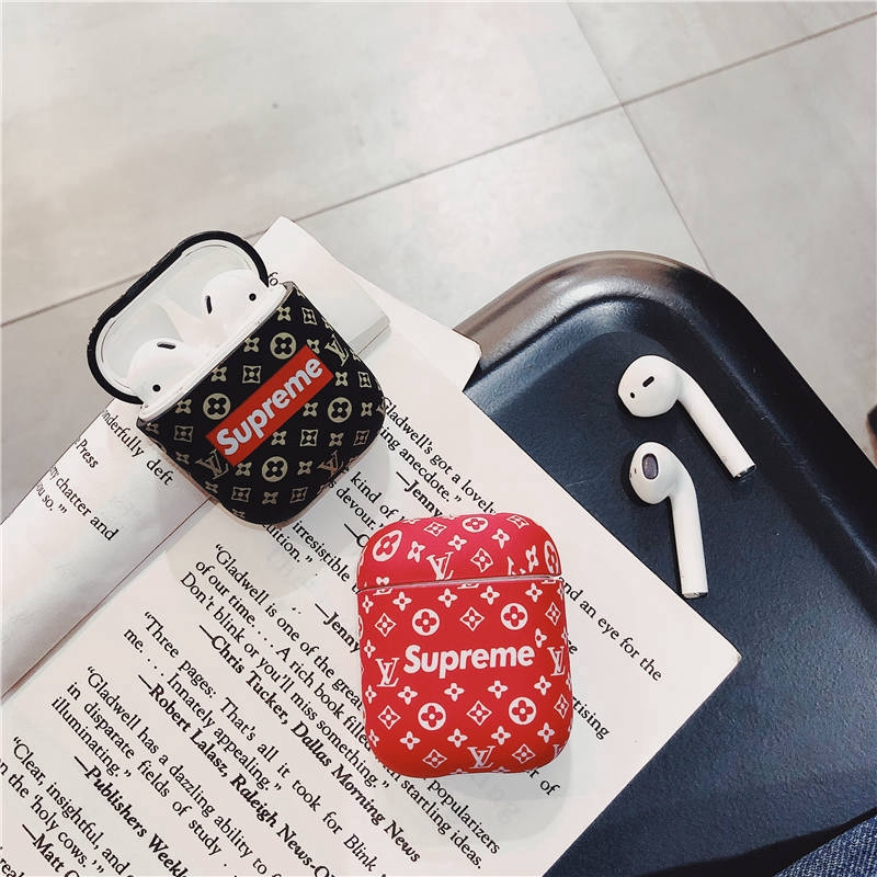 Luxury Lv Sup Joint Name Supreme Airpods Bluetooth Wireless