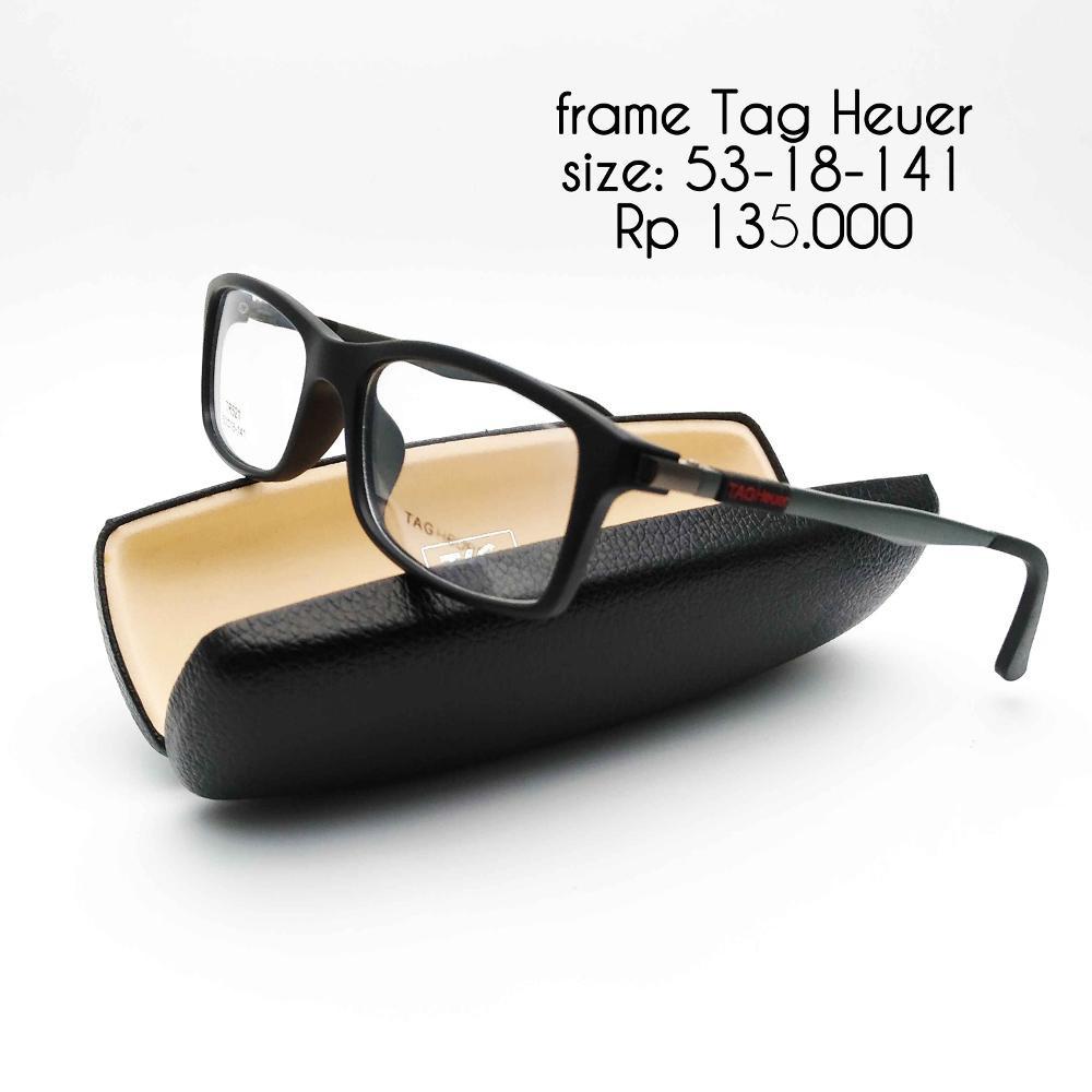 Frame kacamata pria cowo bisa untuk minus Tag Heuer 521 fb Murah ... 291a4a8cec