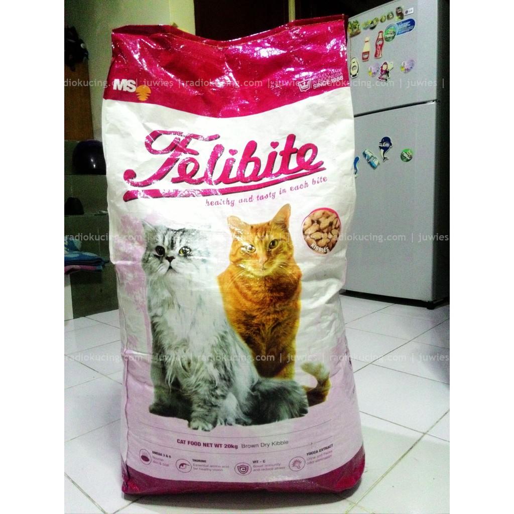 Cat Food Makanan Kucing Felibite Per Kilo Repack Shopee Indonesia
