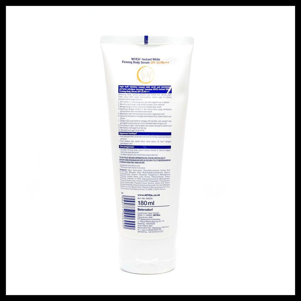 Nivea Body Lotion Instant White Serum SPF33 ...