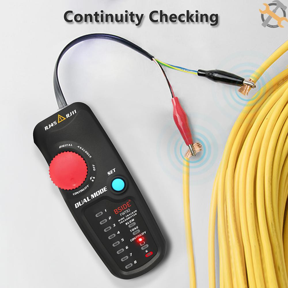 Tester Telephone Wire//LAN Tone Generator Probe Tracker Tracer Kit For RJ11 Cable