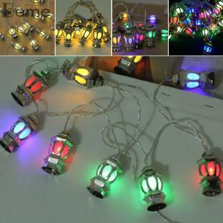 lampu string lentera 20 led warna-warni untuk dekorasi