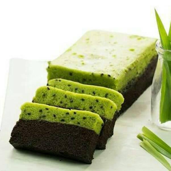 REAL PICT ! Brownies Amanda Sarikaya Pandan  / Brownies Sarikaya Pandan