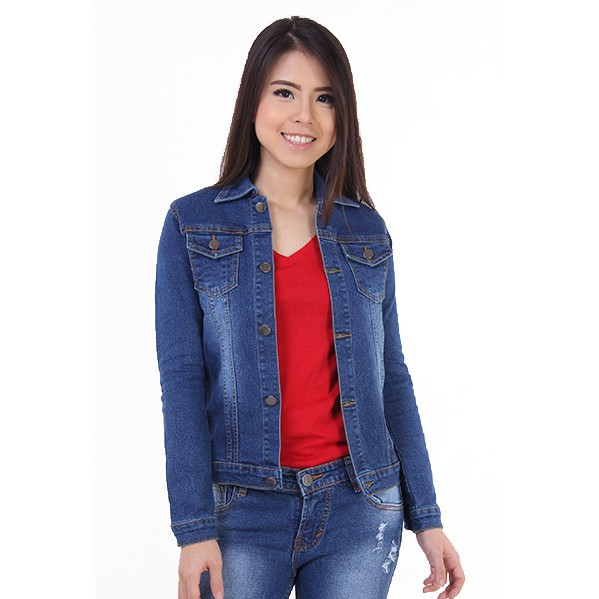 [JSK 5035] Rok Jeans Pendek Selutut Wanita / Skirt Jeand Biru Tua / Rok Mini Jeans Kancing Depan | Shopee Indonesia