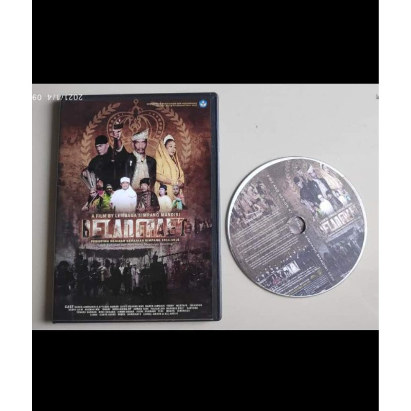 VCD Fullmovie Film Semi Kolosal Sejarah Perang BELANGKAET