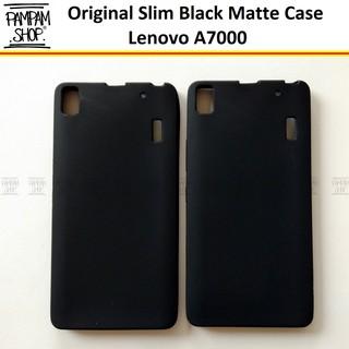 new product 14fbb 49a2f Soft Case Slim Black Matte Lenovo A7000 A 7000 Ultrathin Ultra Thin ...