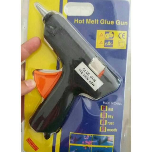 Solder Alat Lem Lilin Tembak /Pistol Glue Gun Hot Melt AC | Shopee Indonesia