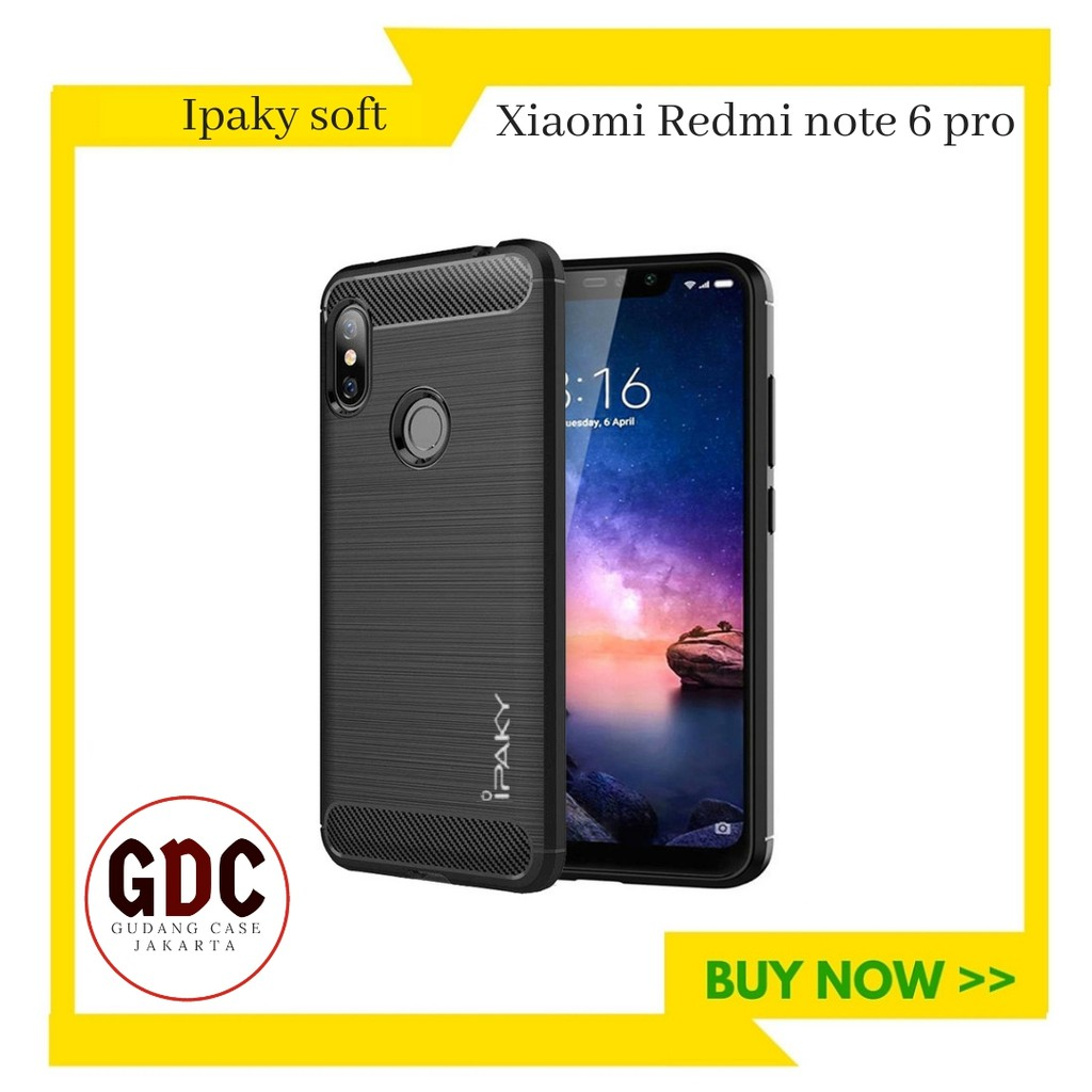 Gdc Ipaky Ultra Slim Black Matte Back Case For Xiaomi