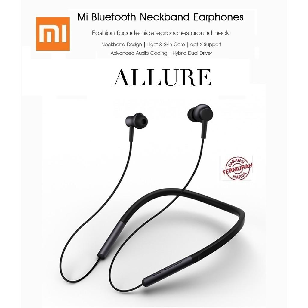 Headset Xiaomi Mi Bluetooth Neckband Earphone Wireless Apt-X 2018 NEW