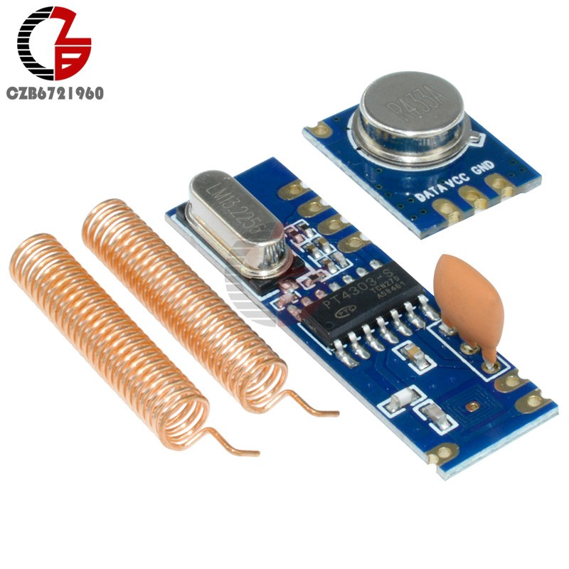 Modul Transmitter Remote Control 433MHz 100 Meter stx882 + Ask ...