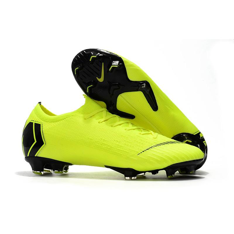 Sepatu Bola Desain Nike Assassin 12th Generation Warna Kuning Fg