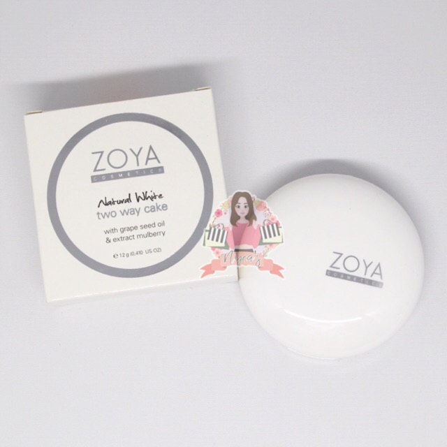 Natural White Two Way Cake - Zoya ...