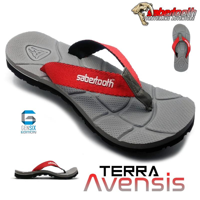 SABERTOOTH Sandal Gunung Traventure Terra Avensis size 32 s/d 47   Shopee Indonesia