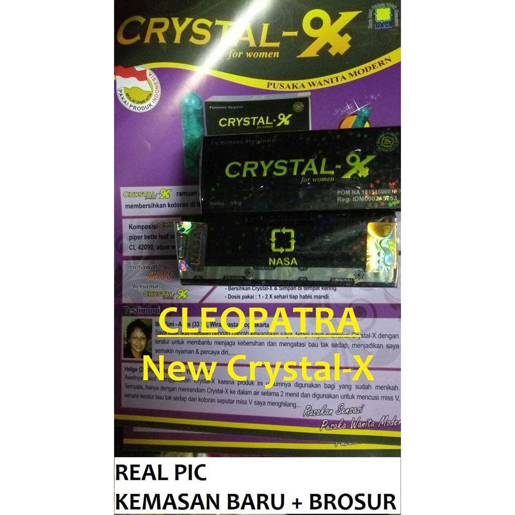 Crystal X Pembersih Dan Perawatan Kewanitaan Beli Harga Murah Ori Nasa Kristal Asli Cx Cristal