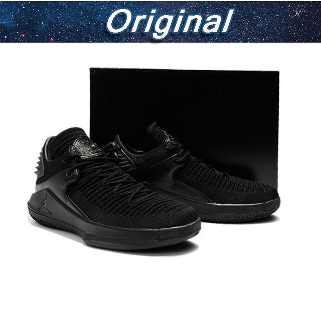 0ea42dedae0382 Nike Low Air Jordan 32 XXXII Bred Black Perfect Kick Original ...