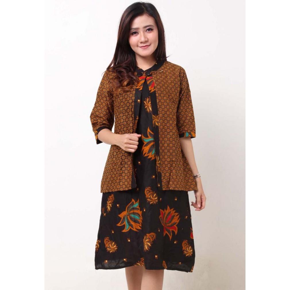 kardigan+dress+batik+ +kebaya - Temukan Harga dan Penawaran Online Terbaik  - Oktober 2018  b27186e2b9