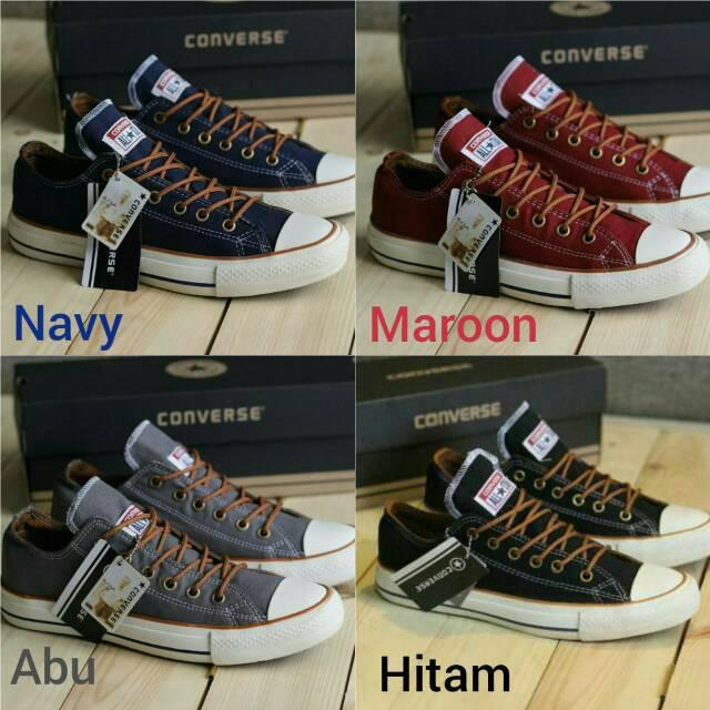 Sepatu Converse Low Sepatu Sekolah Sneakers Pria Sepatu Santai