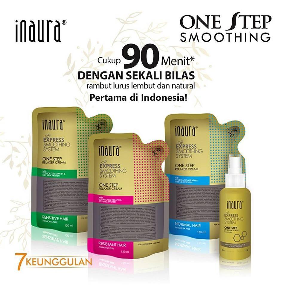 Inaura One Step Smoothing   Smoothing   Pelurus Rambut  777c681b17