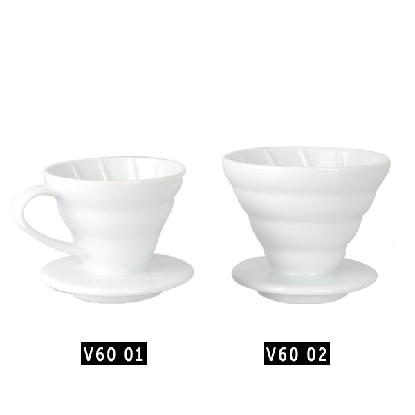 VCF-01-40W | Hario Paper Filter White 40 sheets for v60 01 Dripper Pour Over | Shopee Indonesia