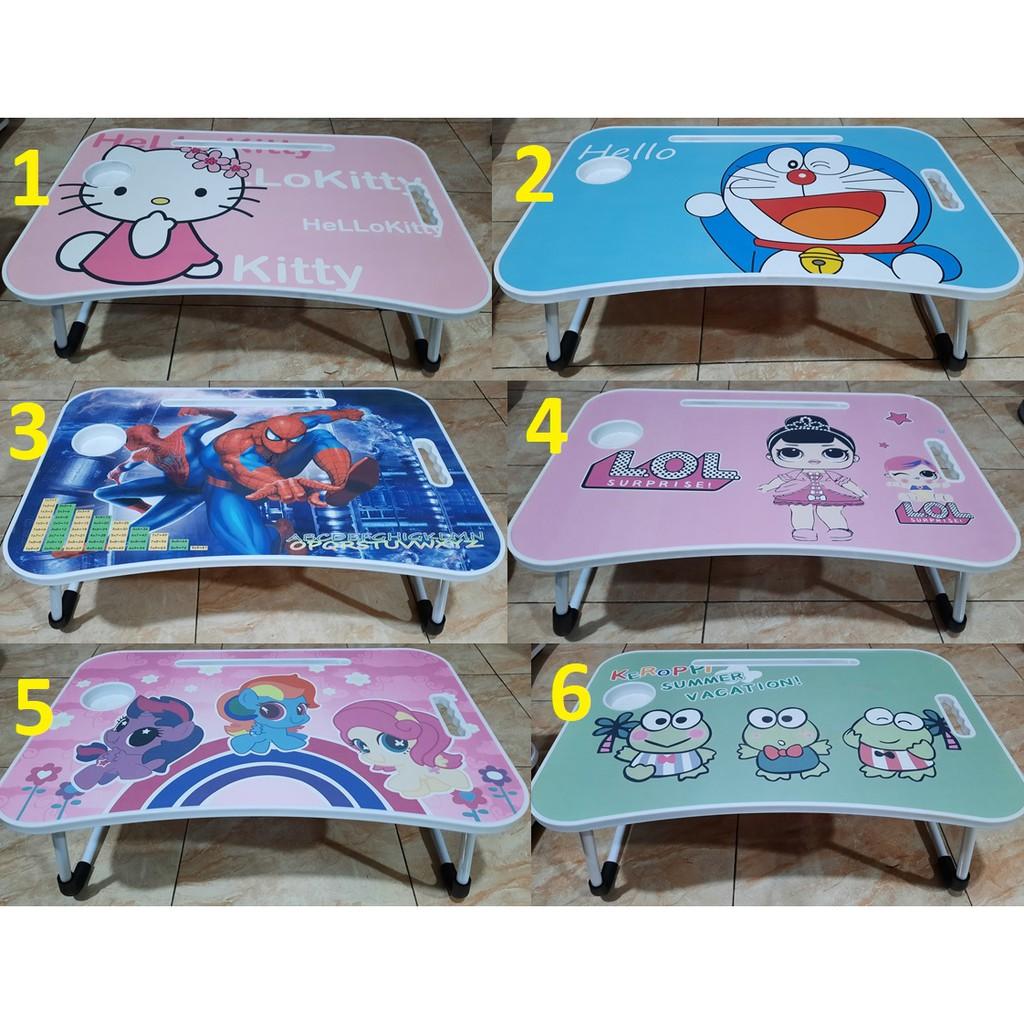 Meja Belajar Anak Meja Lipat Anak Meja Belajar Karakter Meja Laptop Meja Lipat Karakter Lucu Shopee Indonesia Harga meja belajar lipat anak