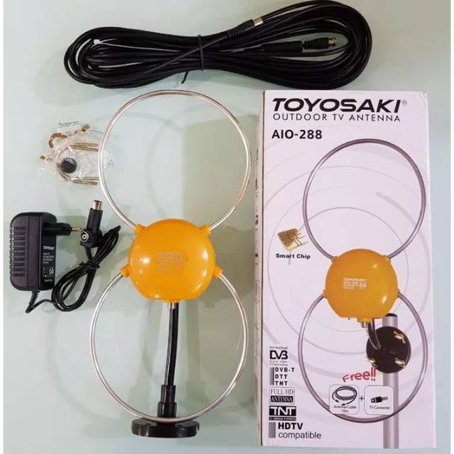 Penguat Sinyal TV / Booster Outdoor Antena TV PF DX-W5000 (ORIGINAL/ASLI) | Shopee Indonesia