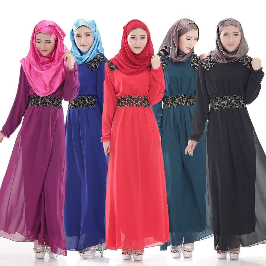 Baju Pesta Muslim Gamis Kaftan  8f1785eb06