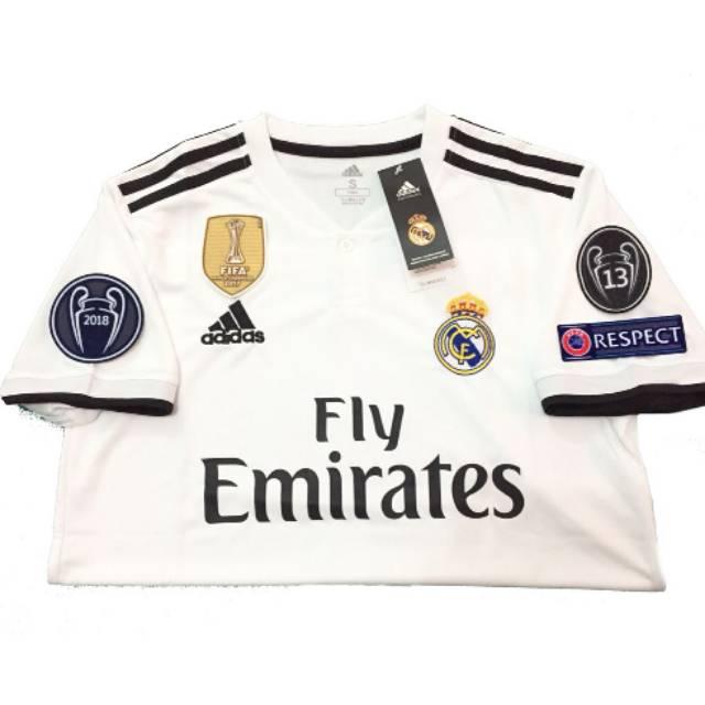 f8a9e8f7a52 New Jersey Juventus Home 2018   2019 Terbaru Official FULL PATCH COPA DAN  SCUDETO