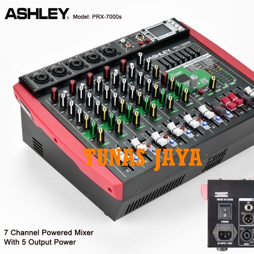 POWER MIXER AUDIO ASHLEY PRX 7000S POWER MIXER PRX7000S ORIGINAL