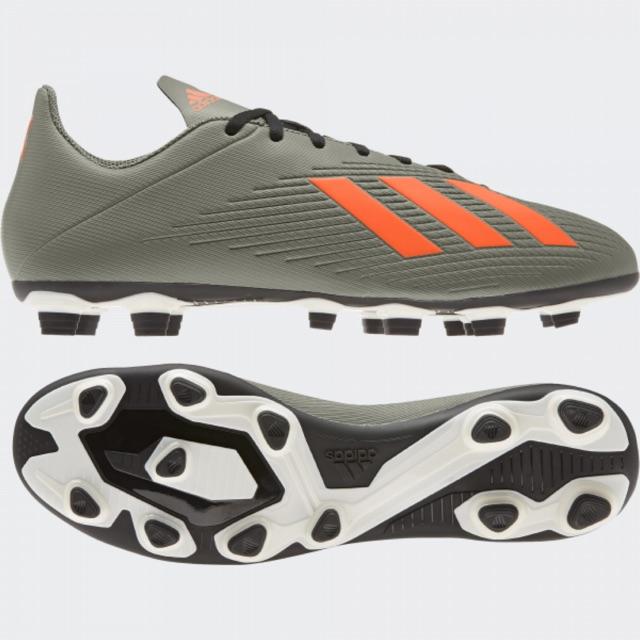 Kicosport Sepatu Bola Adidas X19 4 Fg Green Army Orange Original