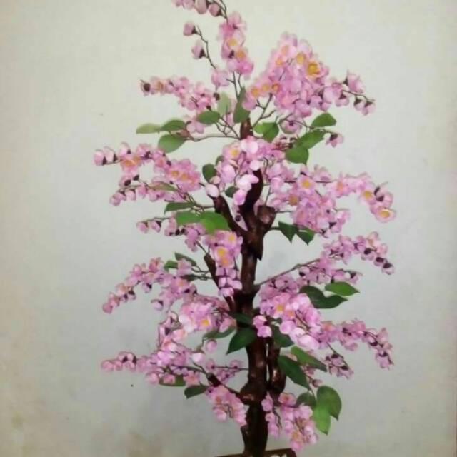 Bunga Sakura Bunga Artificial Cherry Blossom Shopee Indonesia