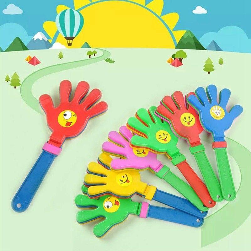 Fun Hand Clapper Plastic Toy Flapper Novelty Cheering Kids Children Party Toy UK