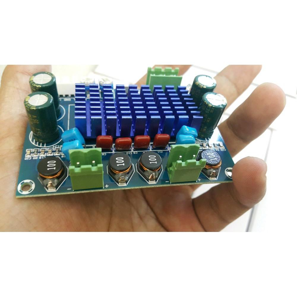 power amplifier class D power class D TPA3116D2 Stereo  Power Amplifier 2 x 120w Bagus