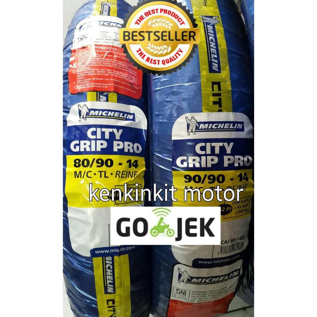 Michelin Pilot Street 110/80-14 Tubeless Ban Motor [Free Pentil Tubeless]