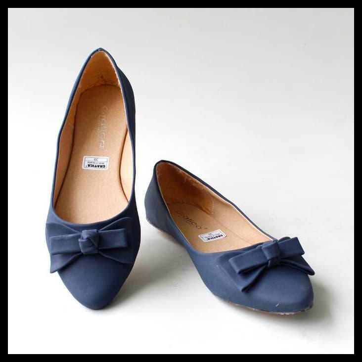 Suplier Sepatu Flat Shoes Flatshoes Gratica Kh28 Hitam Hitam 37 | Shopee Indonesia