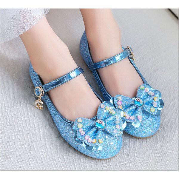 Promo Jual Sepatu Frozen Anak Beli Sepatu Pesta Anak Elsa Frozen