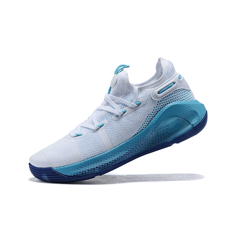 reflujo Inseguro judío  Under Armour Stephen Curry 6 blue White Basketball Shoes Men | Shopee  Indonesia