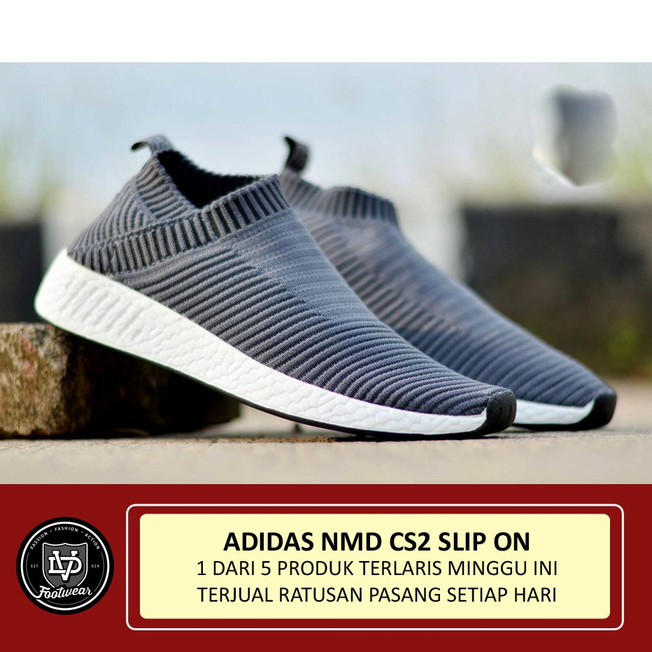 Adidas Nmd Cs2 Slip On Sepatu Pria Wanita Olahraga Sneakers Casual Adh2912 Jam Tangan Unisex Hitam Running Jogging Senam Import Shopee Indonesia