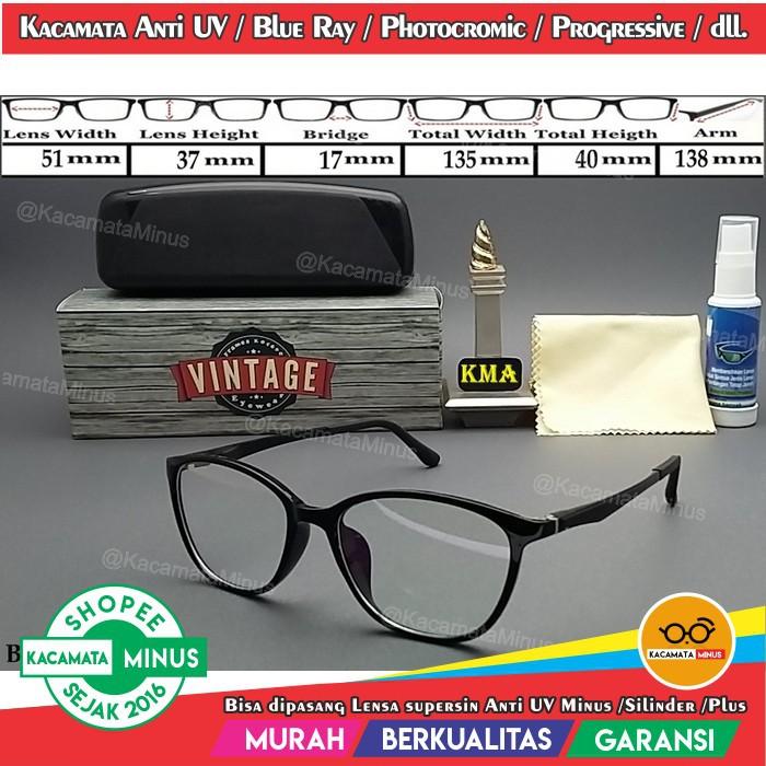 Frame Kacamata Korea Vintage Minus Lensa Anti radiasi Tag heuer 0522 ... 9eee116c1c