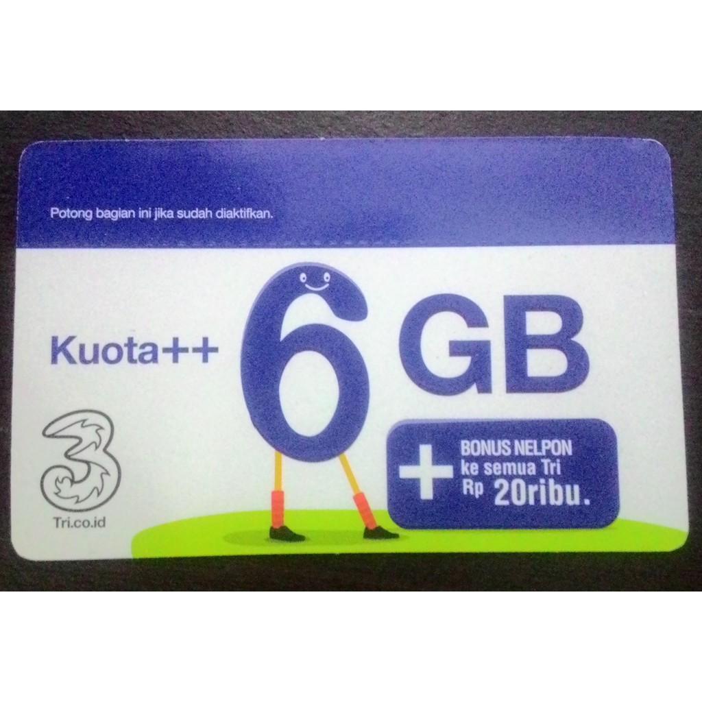 Voucher Isi Ulang Kuota Tri 3 Three Aon 2gb 2 Gb 1gb Reguler Paket Dan Extra Termurah Shopee Indonesia