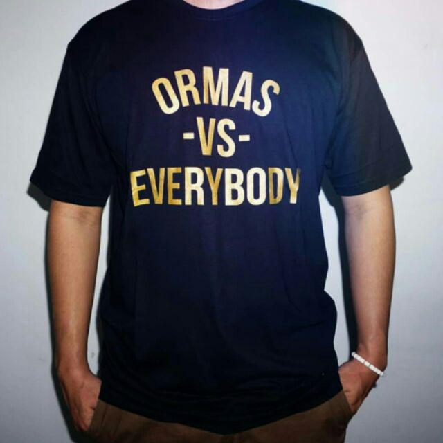 Kaos Tshirt Baju Keren Close Minded X Urbain Inc Ormas Vs Everybody I Shopee Indonesia
