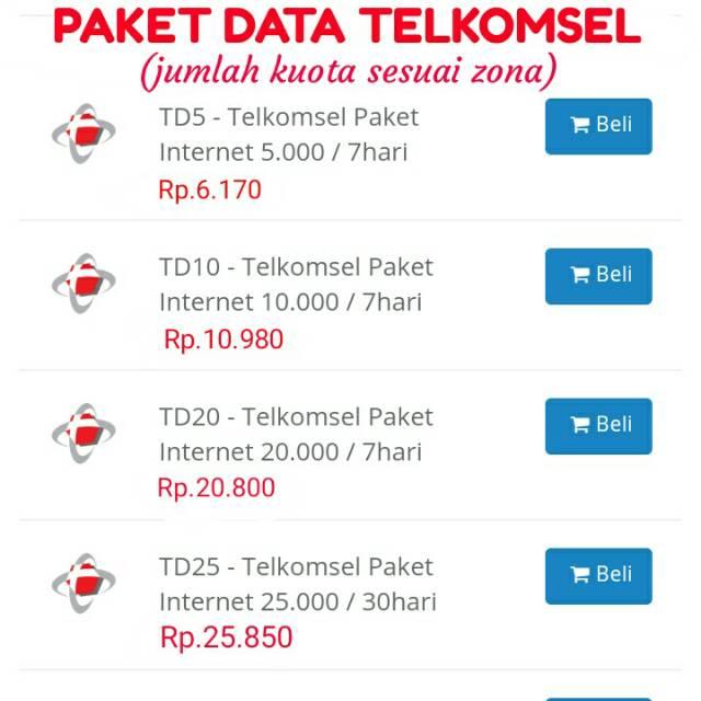 Jual Beli Produk Data Pulsa Voucher Shopee Indonesia