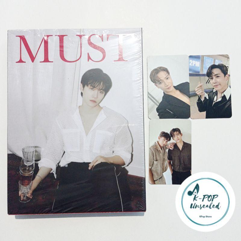 2PM - Must LIMITED Junho (Photocard, PC Taecyeon, Junho, Jun.K, Nickhun)