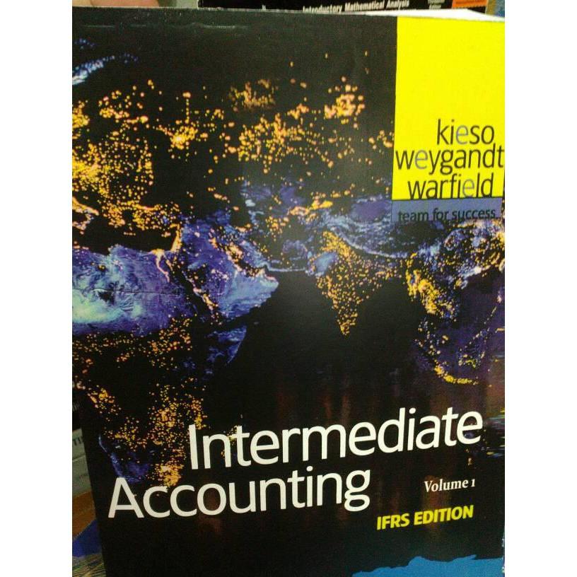 Best Seller Intermediate Accounting Ifrs Vol 1 By Kieso Termurah Shopee Indonesia