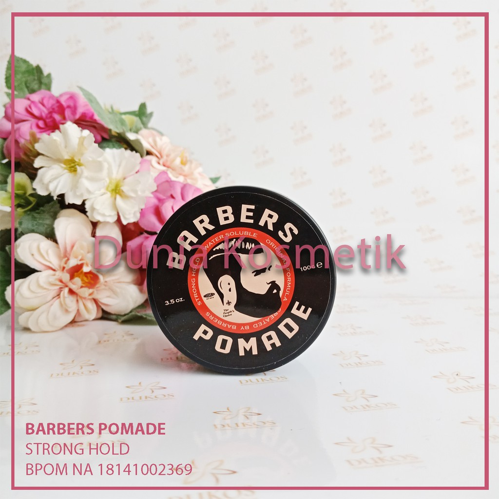 Pomade Barbers Strong Hold Waterbased / Original dan BPOM   Shopee Indonesia