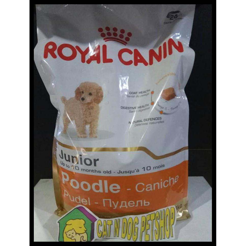 Jual Royal Canin Poodle Junior 3kg Makanan Anjing Poodle Anakan Shopee Indonesia