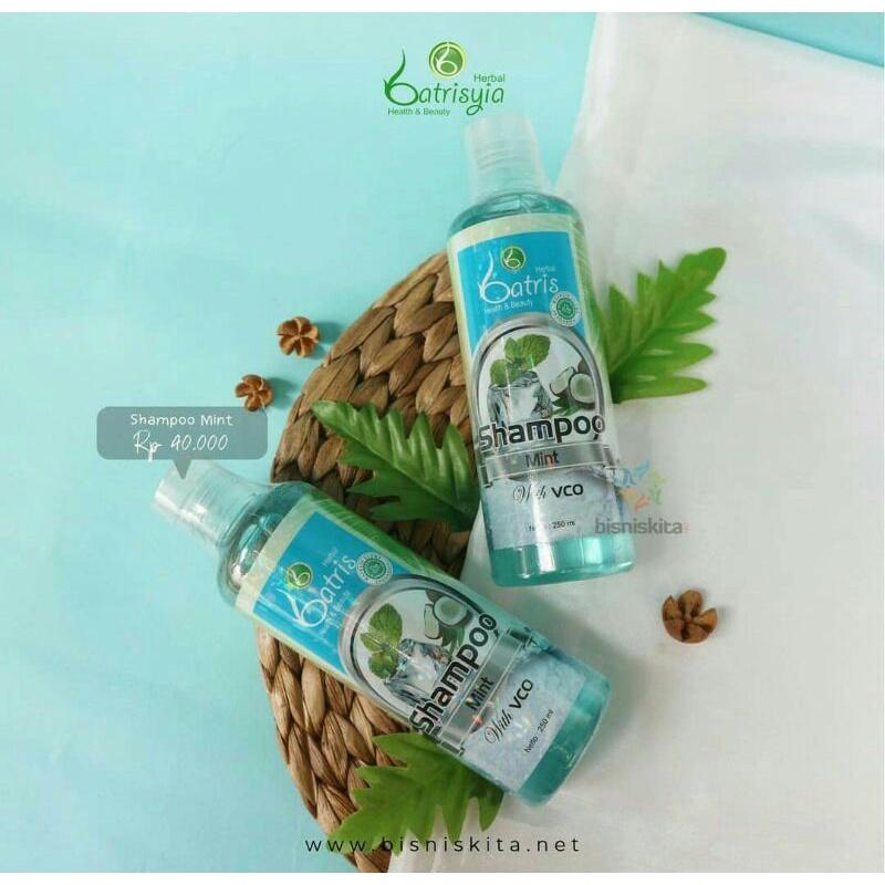 Batrisyia Shampoo Mint Atasi Ketombe dan Rontok-3