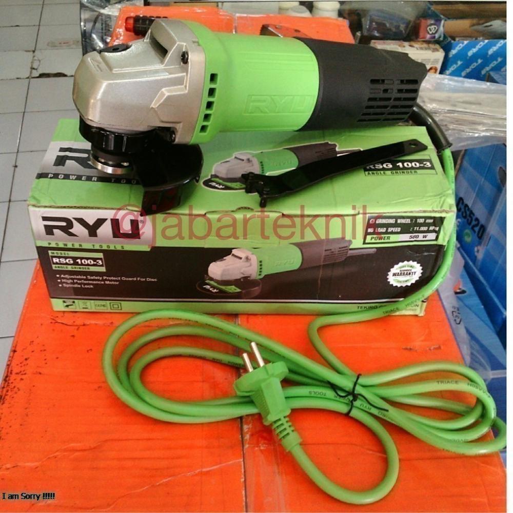 Gerinda Ryu 4in Rsg 100 3 Bagus Shopee Indonesia Stand Gurinda Dudukan Tangan Prescott For Angle Grinder Heavy Duty Kualitas Bahan Tebal