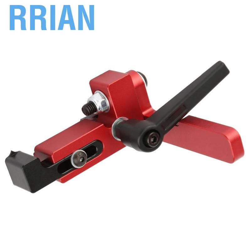 Miter Track Stop Woodworking DIY Tool Alloy Steel Type-75 Woodworking Tool Miter Track Stop Accurate Length Limit Device