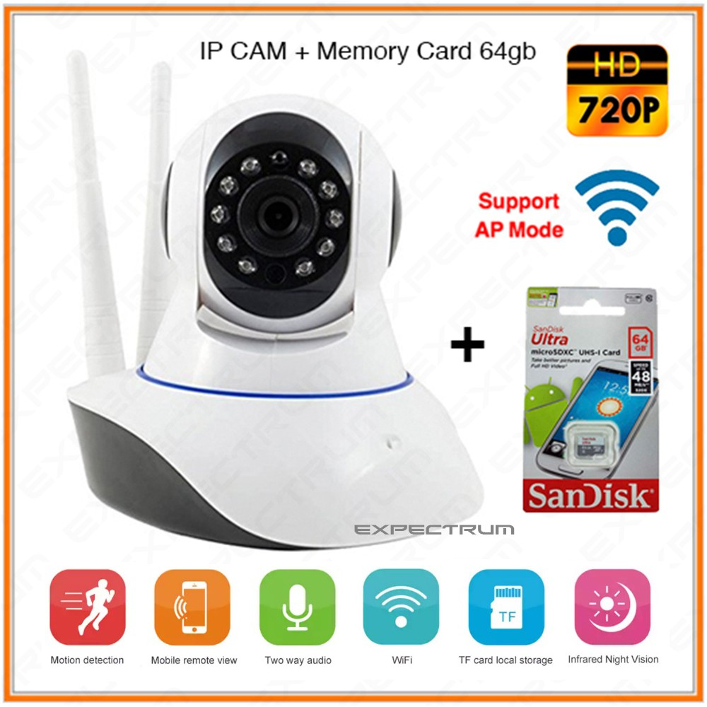 Hot Xiaomi Yi Dome Home Cctv Camera 360 Vision International Mmc Xiaoyi 1080 1080p Full Hd 16gb Shopee Indonesia